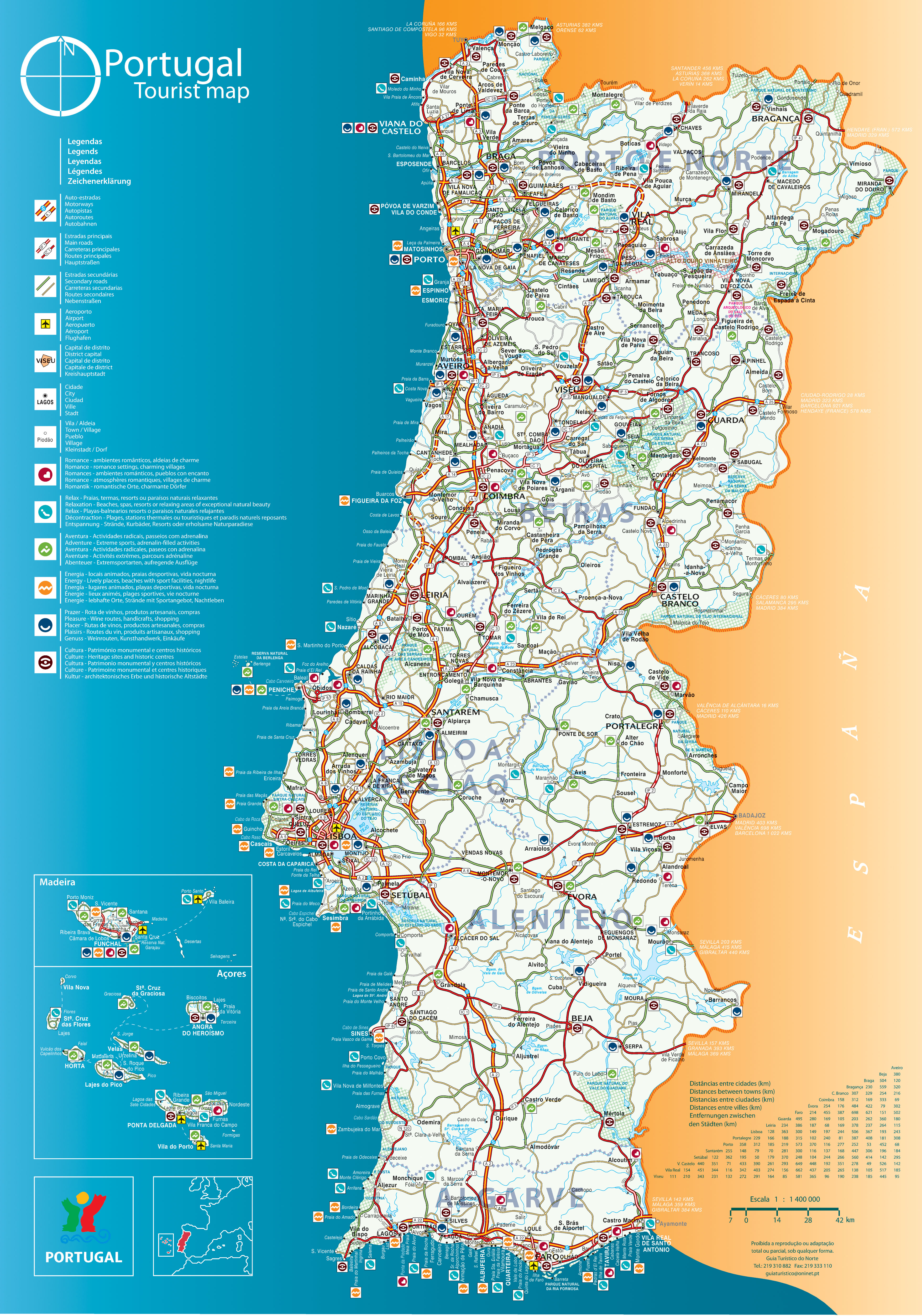 Portugal In Maps A Link Atlas